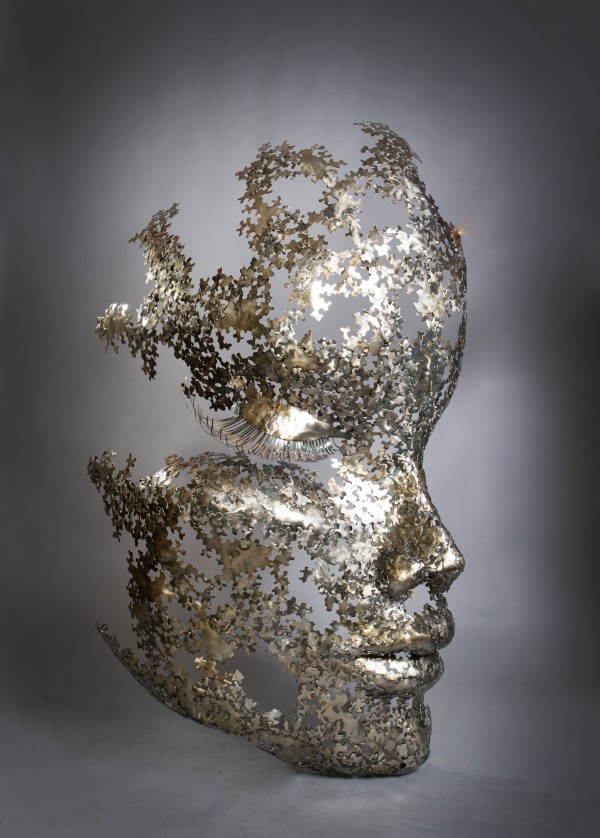 Aura  is a unique sculpture by the international bestselling sculptor Nimrod Messeg